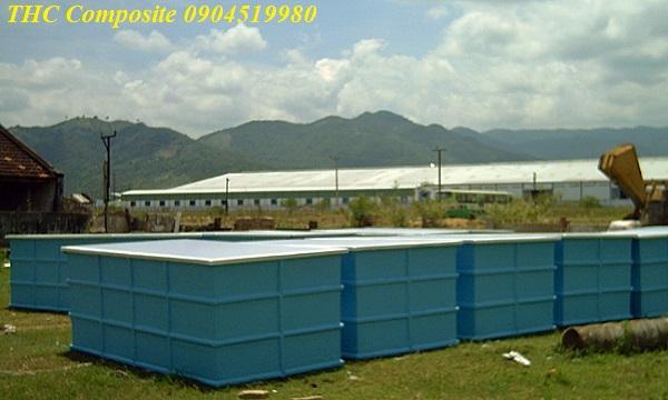 Bồn composite nuôi thủy sản