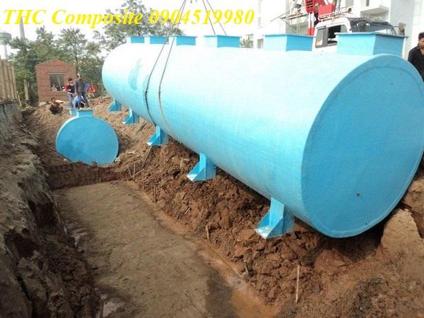 Bồn xử lý nước thải sinh hoạt