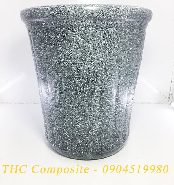 Chậu hoa nhựa composite - chậu trúc