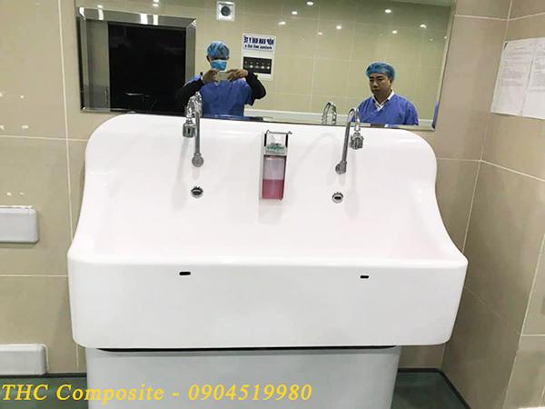 THC Việt Nam cung cấp chậu lavabo cho bệnh viện Việt Pháp