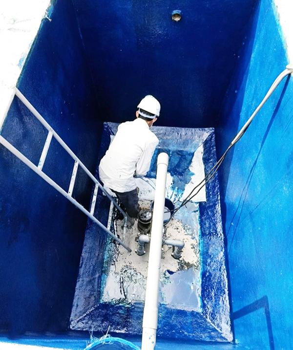 THC Composite Việt Nam bọc 500 m2 khu phức hợp xử lý nước thải cho nhà máy Z115 bộ Quốc Phòng tỉnh Thái Nguyên