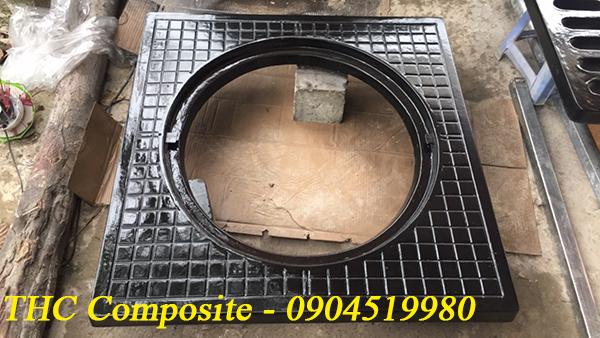 Nắp hố ga composite do THC Việt Nam sản xuất
