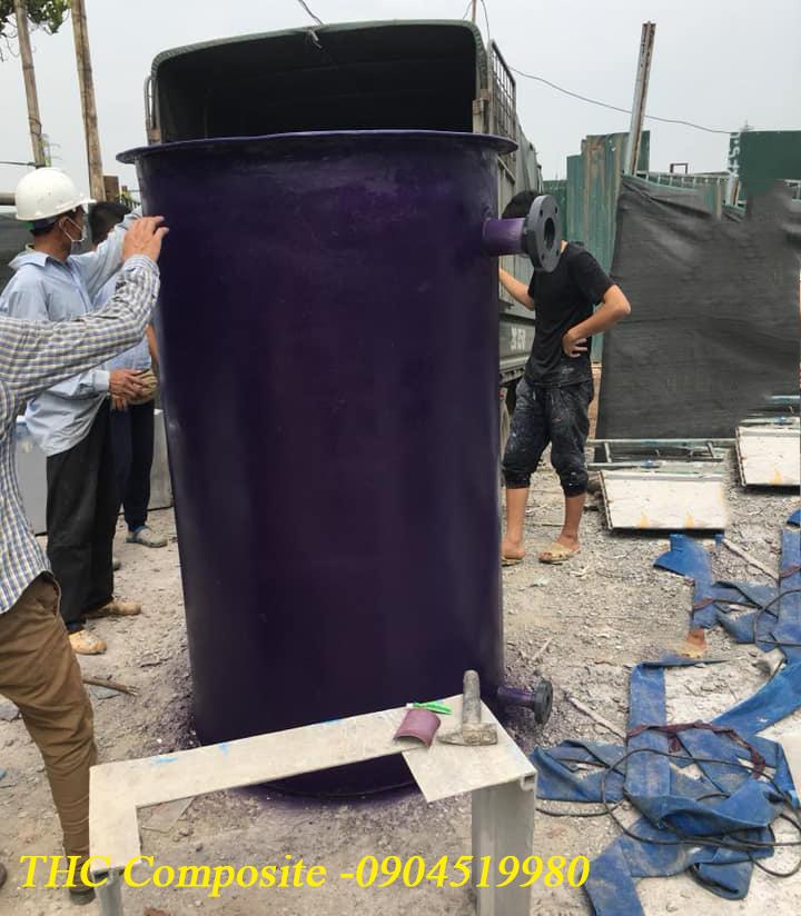 THC Composite chuyên sản xuất lắp đặt các loại bồn composite xử lí nước thải