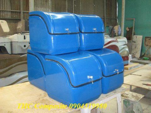 Thùng composite chở hàng chất lượng cao