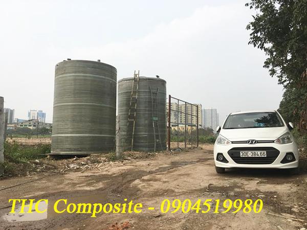 Bồn composite chứa hóa chất do THC Việt Nam sản xuất