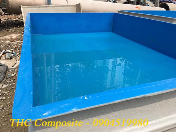 bể chứa cá, hải sản được chế tạo từ vật liệu composite cao cấp