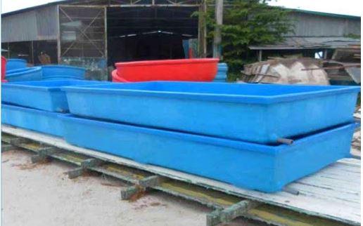 bể composite được thiết kế phục vụ nuôi trồng thủy sản