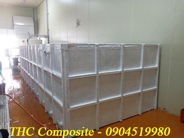 sản phẩm bồn composite FRP của Thc composite được khách hàng tin tưởng