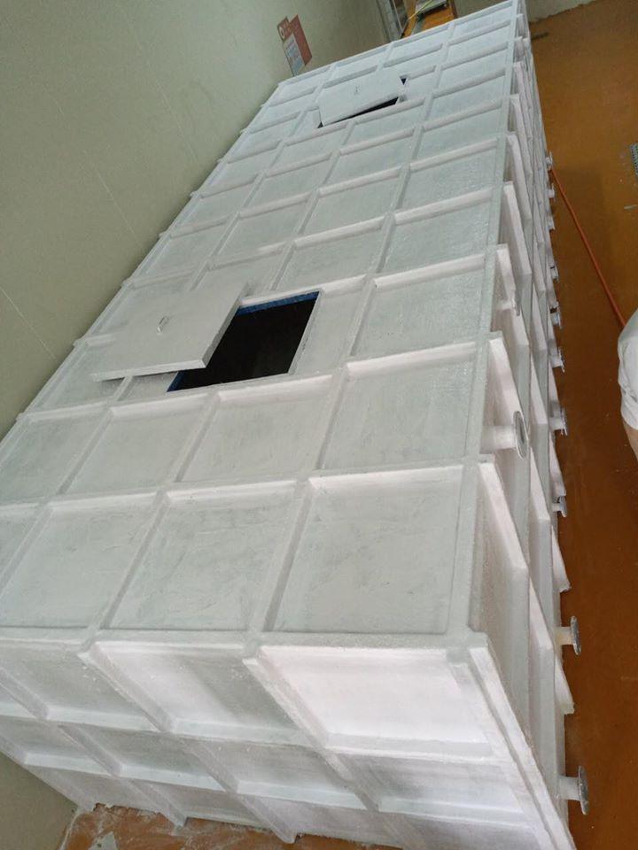 Bồn composite chứa nước muối