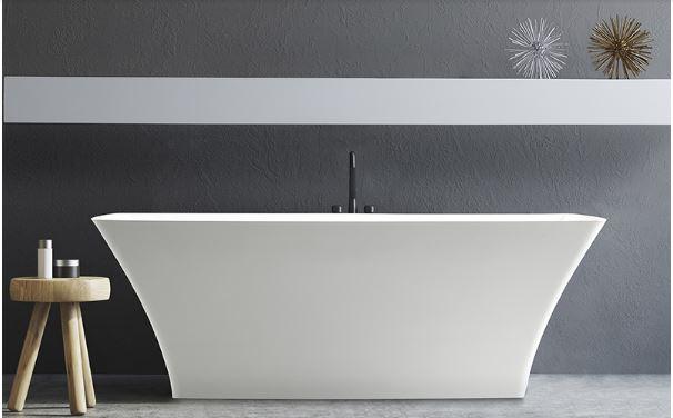 Bồn tắm composite rất đa dạng về kiểu dáng mẫu mã