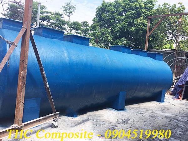 Bồn chứa hóa chất được sản xuất bới THC Composite Việt Nam