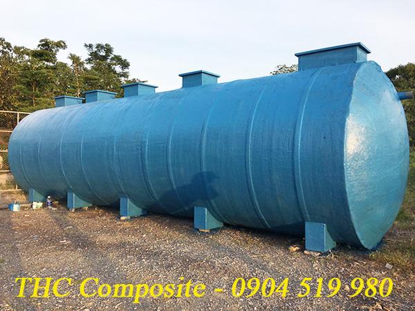 Bồn xử lí nước thải của công ty sản xuất composite THC Composite