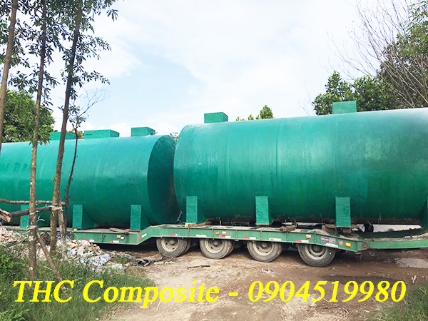 Bồn xử lí chất thải do THC Composite Việt Nam sản xuất