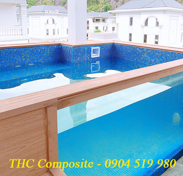 THC Việt Nam thi công hồ bơi composite