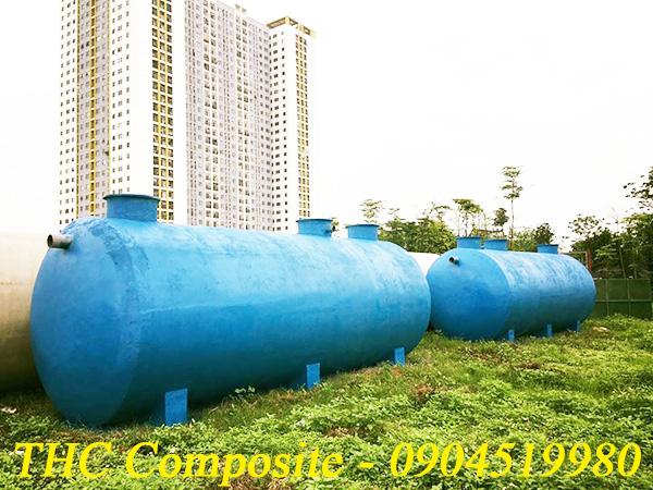Bồn bể composite chứa chất thải công nghiệp do THC Việt Nam sản xuất