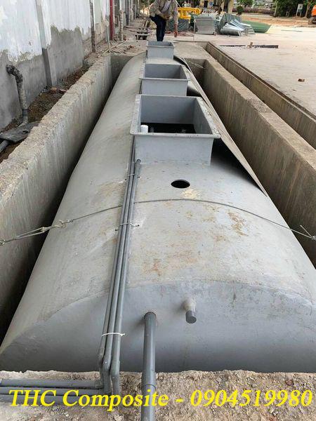 Bể xử lý nước thải do THC Việt Nam sản xuất