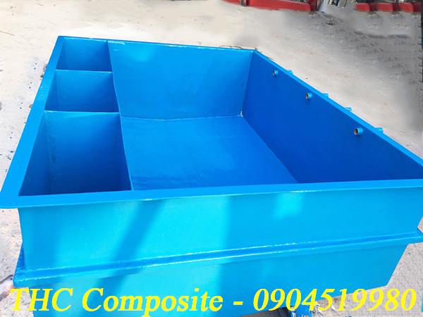 Bể composite mini chứa thủy hải sản chất lượng cao