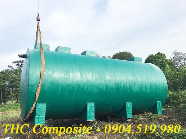 Bồn chứa hóa chất bằng composite do THC Composite Việt Nam sản xuất