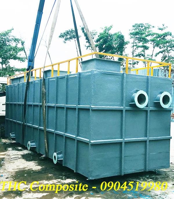 Bể tách rác thải do THC Composite Việt Nam sản xuất