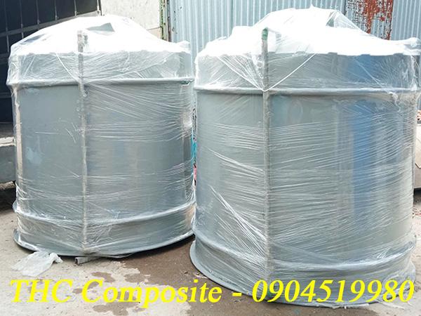 Bồn composite thể tích 5m3 chứa hóa chất