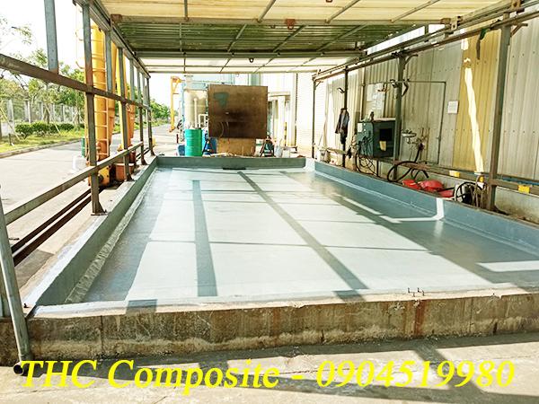 Bọc phủ chống thấm chống ăn mòn hóa chất - THC Composite